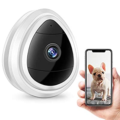 Wireless Security Camera, Wireless IP Security Surveillance System with Night Vision/Two Way Audio for Home/Office/Baby/Nanny/Pet Monitor, Nightvision Camera