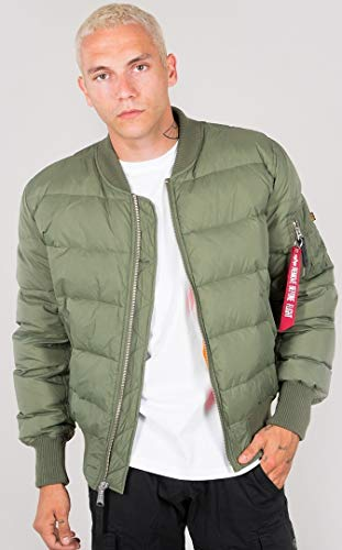 Alpha Industries MA-1 Puffer Doudoune Sage Green