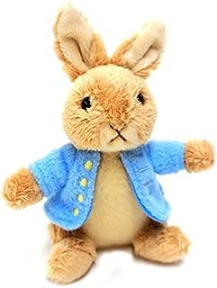 Beatrix Potter Plush Peter Rabbit Keyring