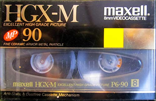 Why Should You Buy Maxell HGX-M 90 Minute 8mm Blank Video Cassette Excellent High Grade Picture