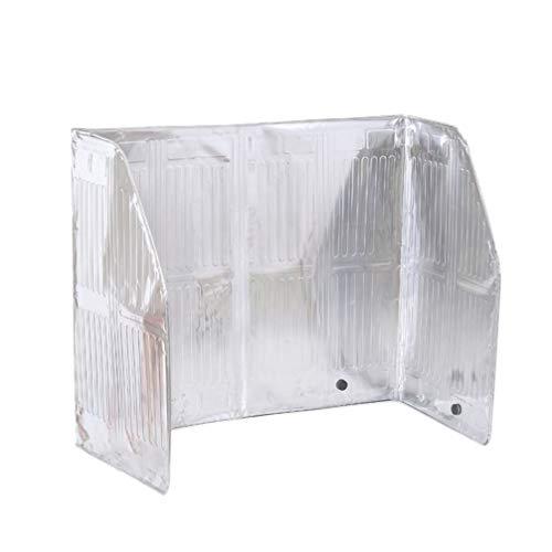 DOITOOL Protector antisalpicaduras, protector contra salpicaduras de aceite, pantalla antisalpicaduras, pantalla para freír 120 x 50 cm