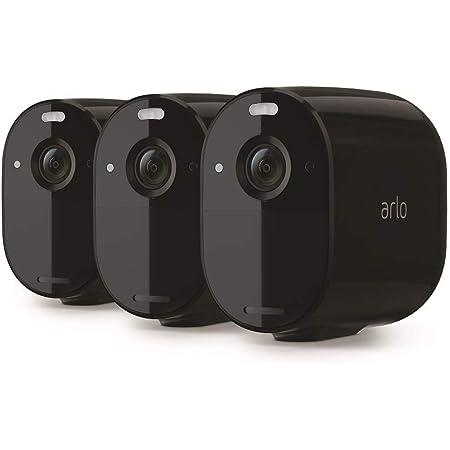 Arlo Essential Spotlight Wlan Überwachungskameras Kabellos Innen Aussen 1080p Farbnachtsicht Bewegungsmelder 6 Monate Akku 2 Wege Audio Direkte Wlan Verbindung Kein Hub Benötigt Vmc2330b Baumarkt