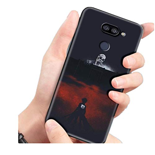 Anime Japanese Attack on Titan Shockproof for LG K40 K40S K41S K50S K51S K61 G6 G7 G8 (ThinQ) Q51 Q60 Q61 Q70 Phone Soft Case