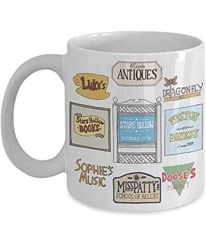 Gilmore Girls firma una taza de 11 oz,una taza de café,una taza...