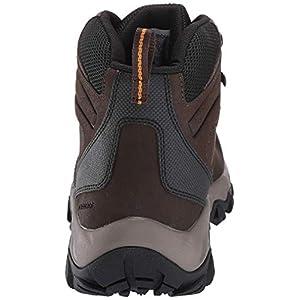 Columbia Men's Newton Ridge Plus II Waterproof Hiking Boot, Cordovan, Squash, 8.5 Regular US