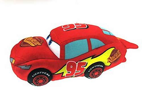 Peluche Coche Rojo Rayo Mcqueen Cars 30cm Calidad Super Soft