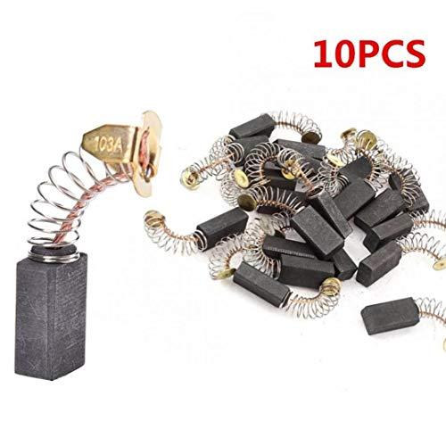 CULER 10pcs Pump Ersatzkohlebürsten Teil Für Wassertransferpumpe Für Elektromotoren Drehwerkzeug 6.5x7.5x13.5mm