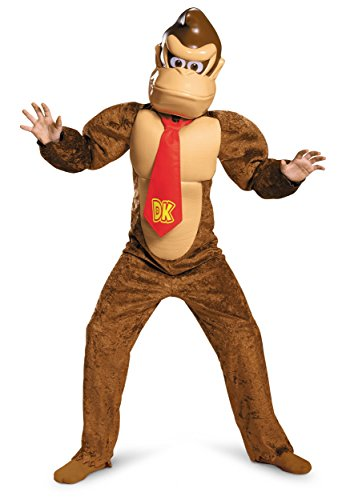 Child Deluxe Donkey Kong Costume - L Brown