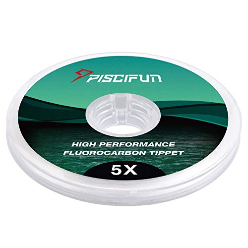 Piscifun Fluorocarbon Fly Fishing Tippet
