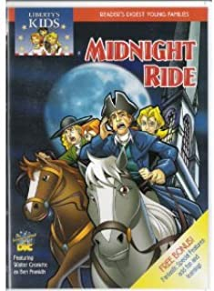 Liberty's Kids - Midnight Ride (Reader's Digest Young Families Series)