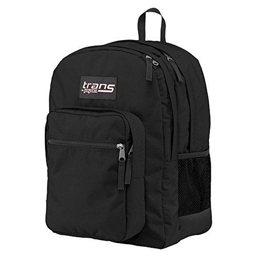 New Trans SuperMax Laptop Backpack by JanSport Black