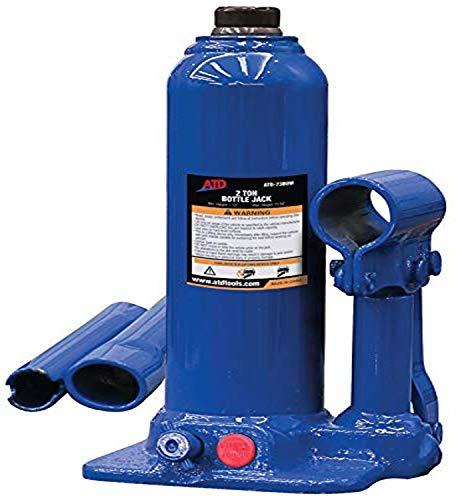 ATD Tools 7380W 2 Ton Heavy-Duty Hydraulic Side Pump Bottle Jack, 1 Pack