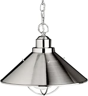 Kichler 2713NI Seaside Outdoor Pendant 1-Light, Brushed Nickel