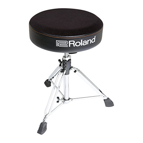 Ronde Roland drum kruk met velours zitting – RDT-R