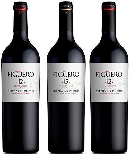 Vinos Figuero (Figuero 15,vino tinto,vino ribera del duero, 2250ml)