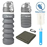 Best Contigo Collapsible Water Bottles - Kupton Portable Travel Water Bottle, BPA Free Reusable Review
