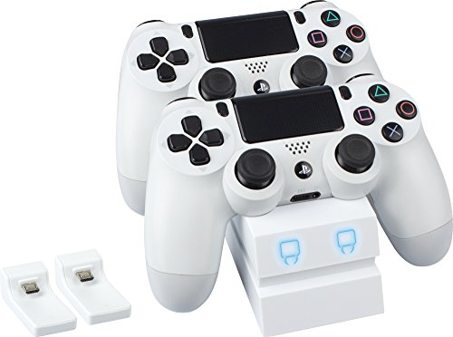 Venom Twin Docking Station - Weiß (PS4)