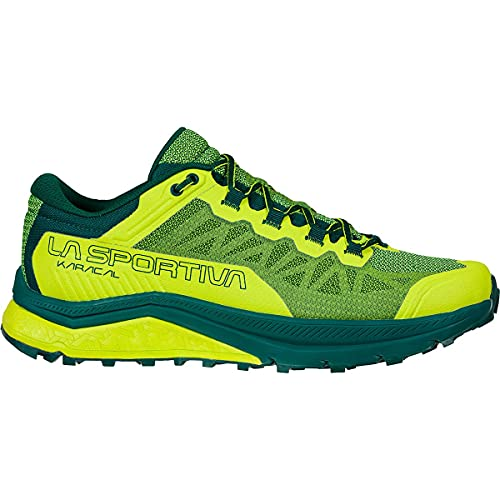 LA SPORTIVA Karacal - Zapatillas para hombre, color amarillo, talla 47