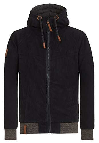 Naketano Herren Jacke Muzzy Night Fever II Jacket