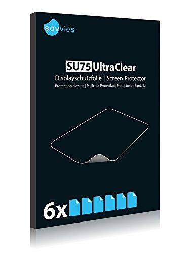 Savvies 6X Schutzfolie kompatibel mit Honor Holly Displayschutz-Folie Ultra-transparent - 3