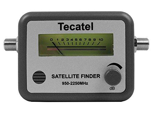 Tecatel medidores - Apuntador satelite acústico con escala metrica