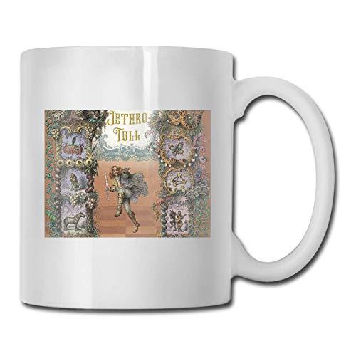 N\A Taza Que Cambia de Calor Jethro Tull - Agregue café o té y aparece una pequeña Escena Feliz - Viene en una Divertida Caja de Regalo