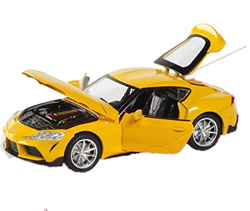 Diecast Model Car 1:32 para Toyota, Coche Deportivo, Modelo De Coche De Aleación, Coleccionables, Coches De Juguete, Regalo De Cumpleaños, Juguete para Niño (Color : 1)