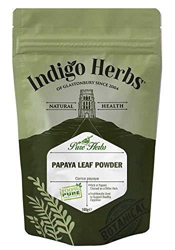Indigo Herbs Papaya Blatt Pulver 100g