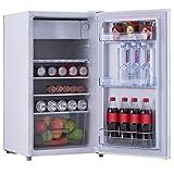 COSTWAYFrigo Combiné Congélateur Réfrigérateur Mini-Réfrigérateur,Capacité91L,230v,50HZ Classe d'Efficacité...
