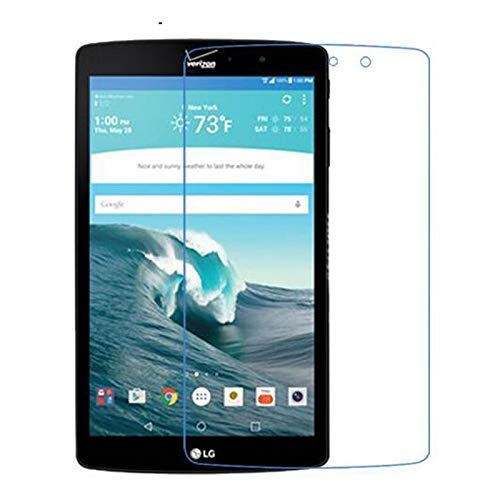 Tran tempered Edge to edge with 9H Hardness Screen Protector for LG G Pad 8 Tablet (Pack of 1)