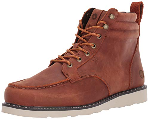 Volcom Herren Men's Waterproof Leather Boot Willington Lederstiefel, wasserdicht, Rust, 37.5 EU