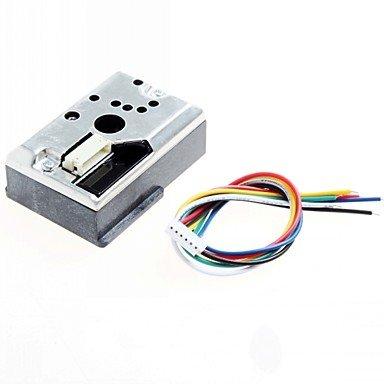 ULIAN Arduimo accessonries modules/sensors for Arduino Sharp GP2Y1010AU0F DIY PM2.5 Dust Sensor GP2Y1010F for Audino / Raspberry PI