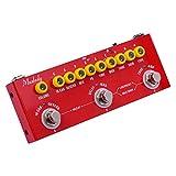 lepeuxi cube baby chitarra elettrica multifunzionale portatile pedale effetti combinato batteria incorporata con registrazione del telefono riproduzione di musica wireless funzione di interfaccia