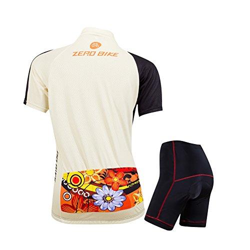 ELEAR® Damen Fahrrad Trikot Radtrikot/Radhose Trägerhose Anzüge Fahrradbekleidung OutdoorTrikots - 2