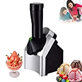 🍨 High Quality: Made of ABS plastic and stainless steel, durable. Suitable for all kinds of fruits, can make all kinds of delicious frozen food! 🍨 Instructions: 1. Wash the fruits and freezethem in the refri gerator. 2. Take out the fruit and defrost...