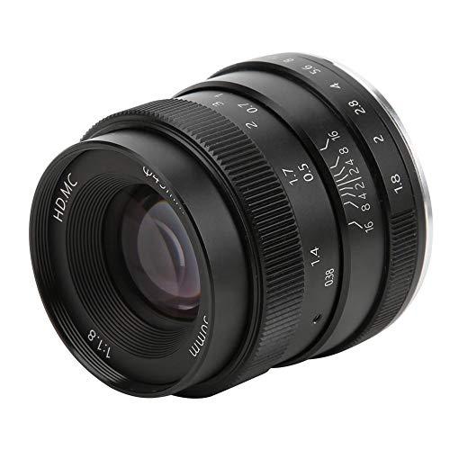 50 mm F1.8 lens half frame GH1, GH2, GH3, GH4 portret vaste brandpunts lens M4/3-vatting voor Olympus E-M5 E-M5II E-M10 E-M10II E-M10III camera