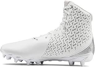 Under Armour Women's Highlight MC Lacrosse Shoe, White (100)/White, 9