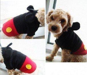 Cmbyn Hosen Latzhose Mickey-Mouse-Stil [] ids Hund tragen Mickey-Stil Kleidung, Hund, Katze Hundetrainer ist Alles Gr??e 5 (M) (Japan-Import) mit...