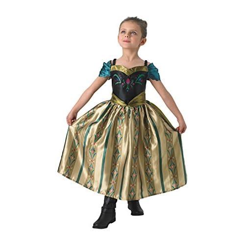 Rubie' s Costume da ufficiale Frozen Coronation Anna Disney favola per bambini costume
