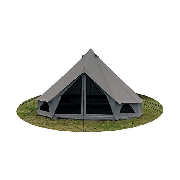 Quest 5-Metre 4 Person Bell Tent 1