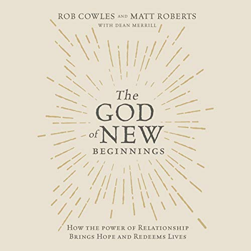 The God of New Beginnings audiobook cover art