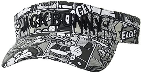 [ジャックバニー] [ユニセックス] サンバイザー 【ドラえもんシリーズ】(総柄・サイズ調整可能:57cm) / 帽...