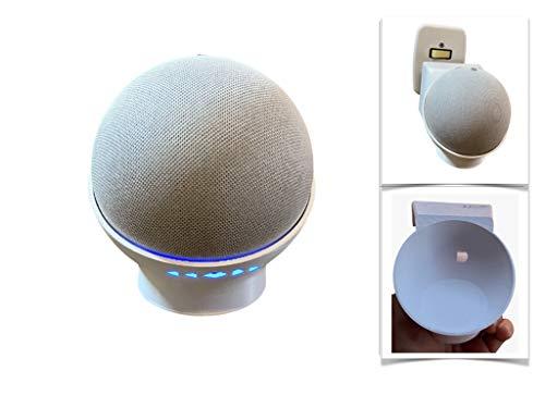 Suporte All in One de Tomada Amazon Alexa Echo Dot 4 Moderno
