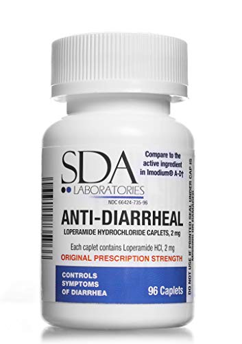 Anti-Diarrheal 2MG 96 Caplets