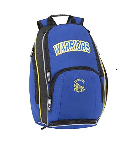 Mochila escolar NBA Golden State Warriors original nueva colección + llavero silbato de regalo