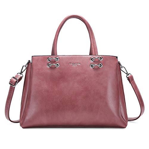 Top Handle Bag Ladies Messenger Leather Handbag Designer Shoulder Crossbody Bag Work Office Shopper