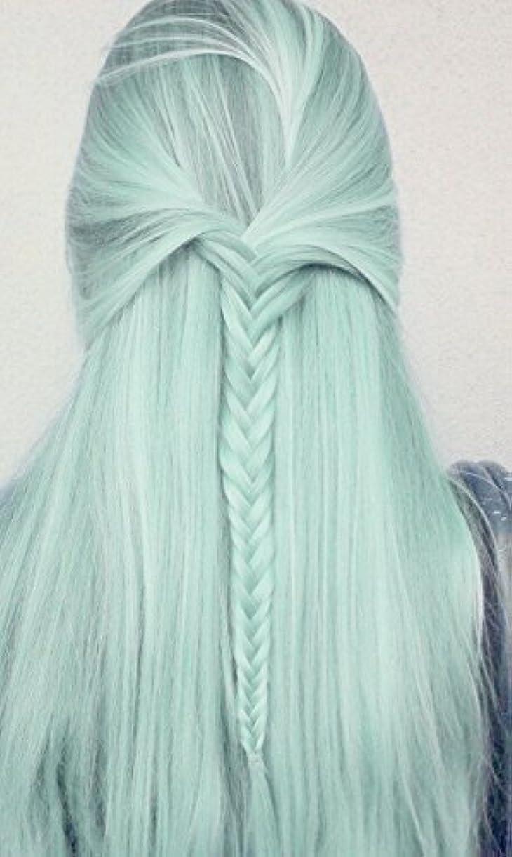 プラカード一掃する肘長いかつらコスプレかつらヘアエクステンション合成かつら かつら