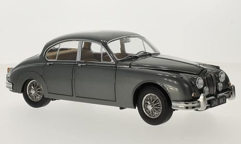 Jaguar Mark II 3.8, metallic-grau, 1962, Modellauto, Fertigmodell, Paragon 1 18