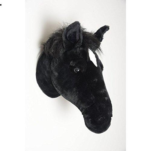 Pferd Peter - Plüschtier als Wanddekoration im Kinderzimmer