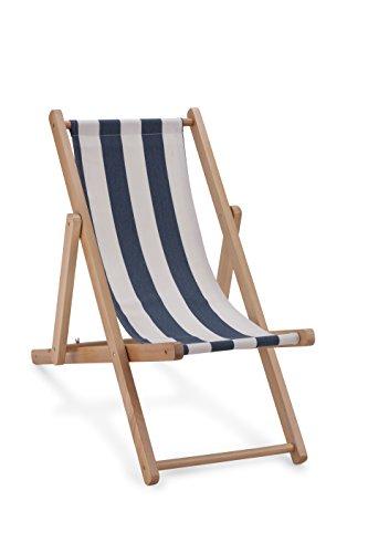 New Classic Toys-Sedia da Spiaggia, Colore: Blu
